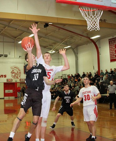 LHS Boys Basketball at East Longmeadow 2019