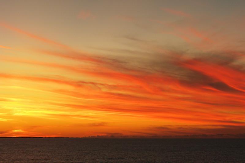 Sunrise on the Atlantic Ocean in Ft. Lauderdale