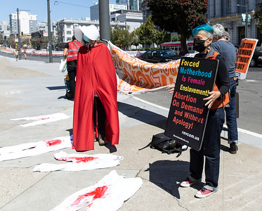 5 Sept 2021 San Francisco:  Protest of the Texas Abortion Law