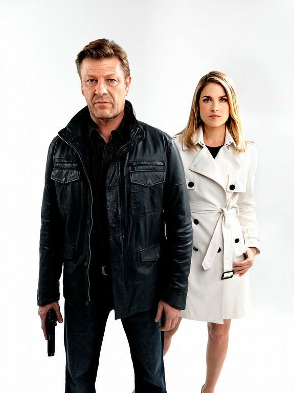 . Sean Bean and Ali Larter in TNT\'s summer mystery drama �Legends,� about an undercover agent who may not be the person he believes himself to be. (Photo by Marco Grob/TNT)