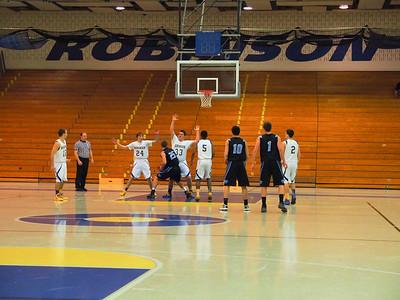 Boys Varsity Basketball 2/11/14