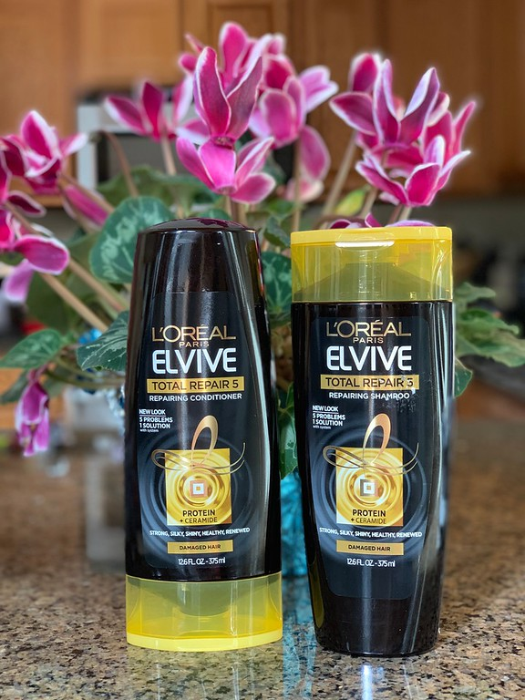 Have hair damage stories to share? Read about Elvive Total Repair 5 and how to enter the #sweepstakes to win a trip to Paris! #ad #SaveOnElvive #StopWaiting