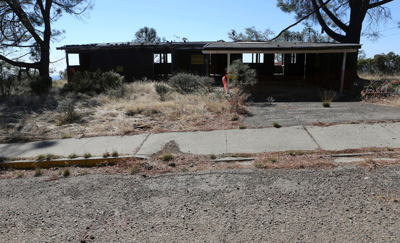 . 2013: The Air Force station commander\'s house awaits final demolition.  (Jim Gensheimer/Bay Area News Group)