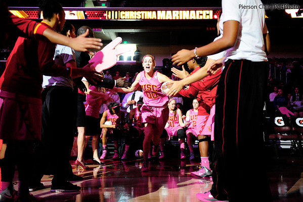 USC Women's Basketball v UCLA 2012