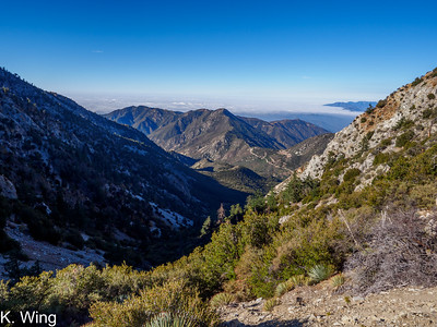 Sugarloaf Peak via Falling Rock Canyon - San Gabriels 10-22-2020