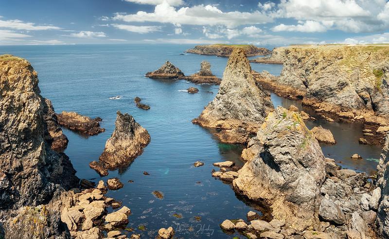 Cliffs of Belle Ille