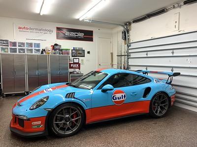 2016 Porsche GT3RS Gulf Livery