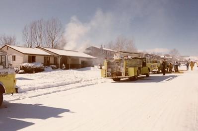5748 W. Ken Caryl Place Fire