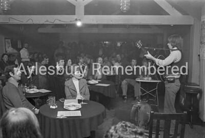 Kings Head Folk Club, Nov 11th 1976