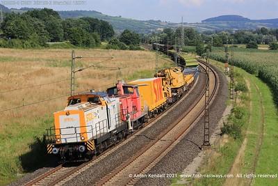 Summer 2021 - Gemünden am Main area, Mainz Bischofsheim and others