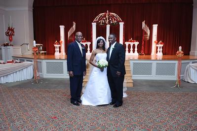 Monaque & Christopher Wedding - Formals