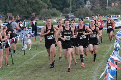 Men 2nd Loop - 2015 OU Golden Grizzly College Open