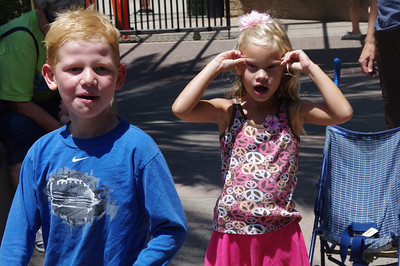 Santa Ana Zoo - July 2011 with Fongs, Grandma Driggs