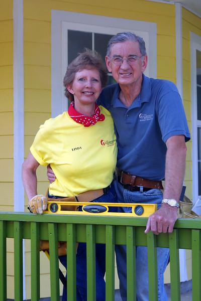 Fuller Center for Housing co-founders Linda and Millard Fuller.