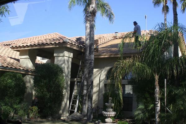 Newport Time-lapse roof repair