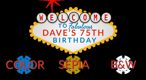 Dave's 75th Birthday