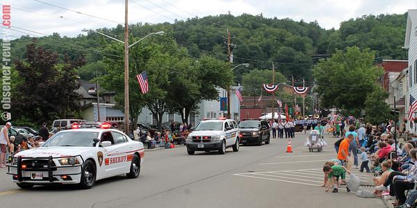 Montour Falls Fireman's parade