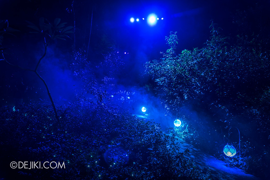 Singapore Zoo Rainforest Lumina - Shimmering Islands walkway