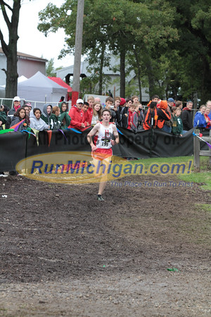 Boys D2 Finish - 2014 Nike Holly Duane Raffin Cross Country Invite