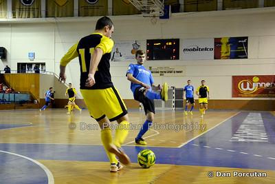 Futsal Men's - CFF Clujana Cluj-Napoca (ROU) vs. CS KSE Targu Secuiesc (ROU)