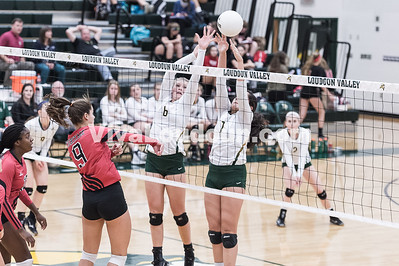 Volleyball:  Heritage vs. Loudoun Valley 10.13.2016 (by Michael Hylton)