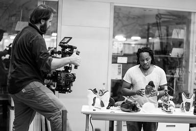 David Senghe and National Geo Filming