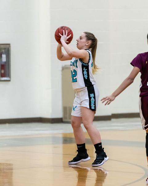 2019-01-18 Kings Fork v Hickory Girls JV Basketball