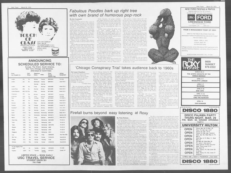Daily Trojan, Vol. 76, No. 34, March 29, 1979