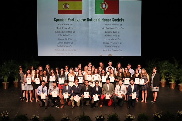 Honor Societies Recognition