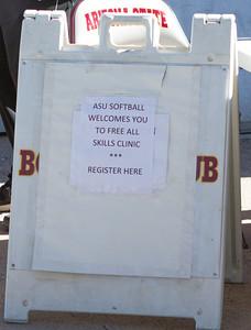 ASU Softball Clinic