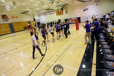 Minneapolis Southwest v South Volleyball 9-20-11