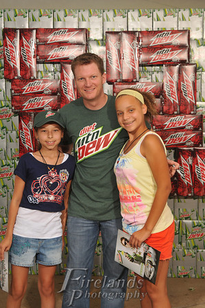 Aug 16, 2012 Dale Jr., Pepsi, Cedar Point