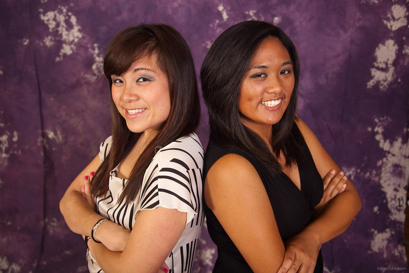 Michelle & Pia's Graduation Portraits