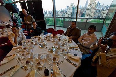 2011-06 Resident's graduation dinner