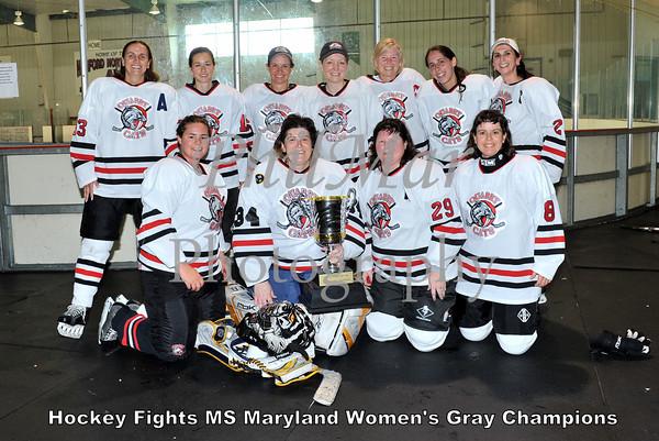 Womens Gray Championship - Quarry Cats vs Purple Cobras