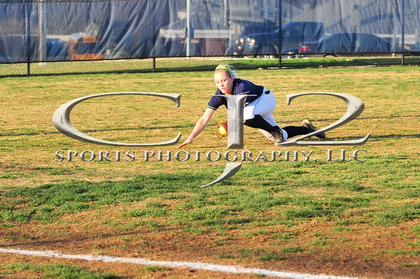 4-8-2014 Loudoun County at Woodgrove Softball (Varsity)