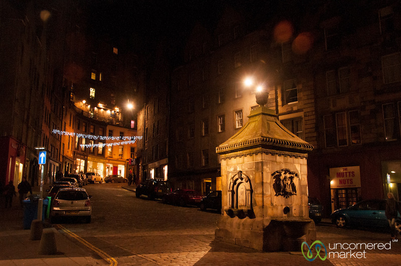 Edinburgh's Old Town at Night