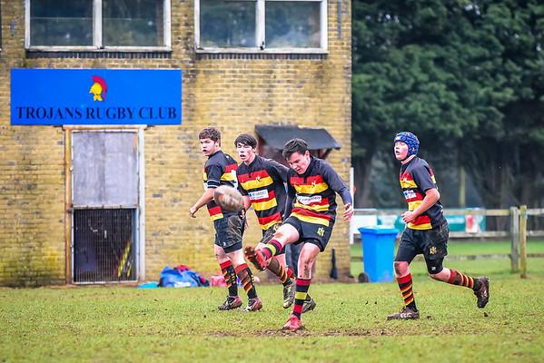 Eastleigh u16 v Trojans and Overton
