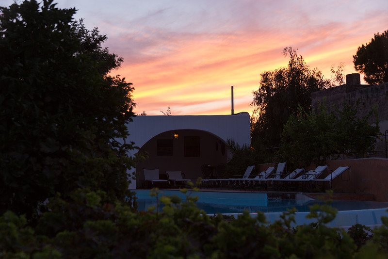 Sunset over Hotel Signum