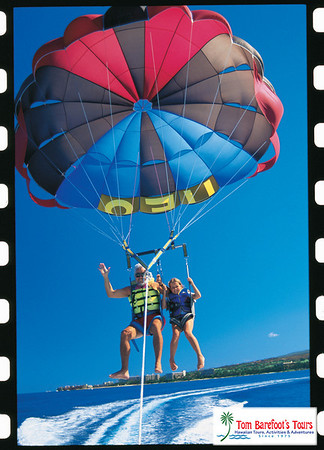 Parasailing on the Big Island