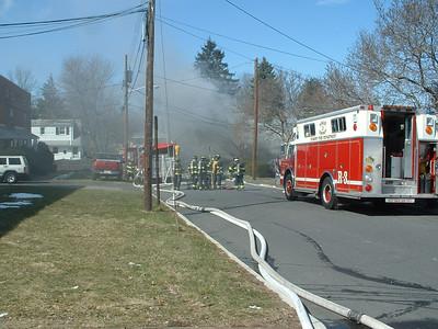 03-22-04 Bergenfield, NJ - Working Fire