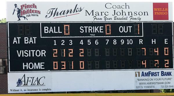 Natural Baseball vs Slammers