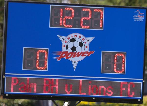 Macron Cup Final 08-02-15 v Lions 1-2