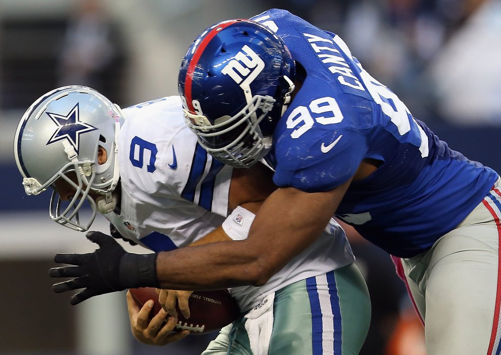 . <p><b> Giants at Cowboys (-3½):</b>  <p>Giants have never lost in Arlington. Cowboys have lost there 15 times, mostly because they�re not that good. It�s math, people! <p>Pick: <b>Giants by 4</b> <p>     (Ronald Martinez/Getty Images)