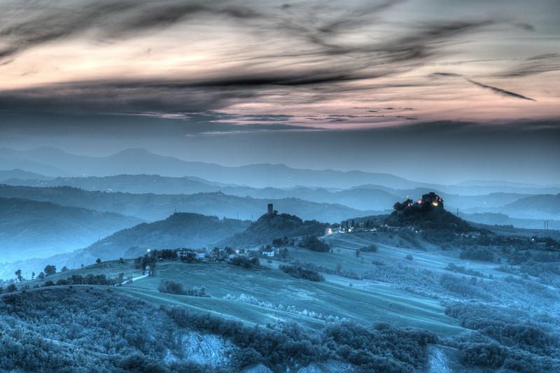 Castello di Rossena - Canossa, Reggio Emilia, Italy - October 5, 2014