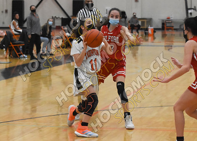 Taunton - Milford Girls Basketball 1-26-21