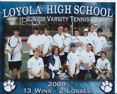 LHS Junior Varsity Tennis Program 2008