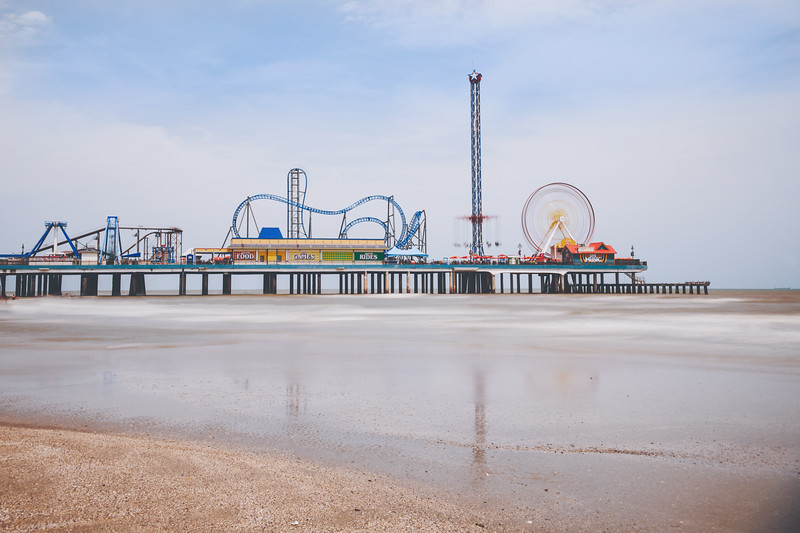 Summer Saturday in Galveston