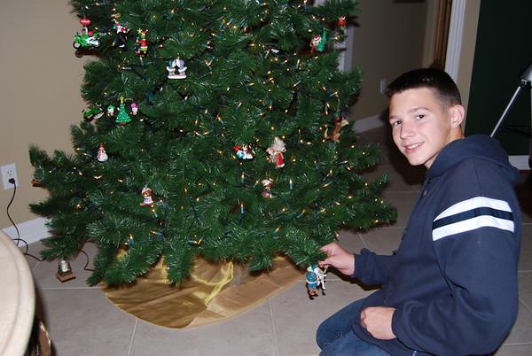 Christmas 2007 & Harrison Bday