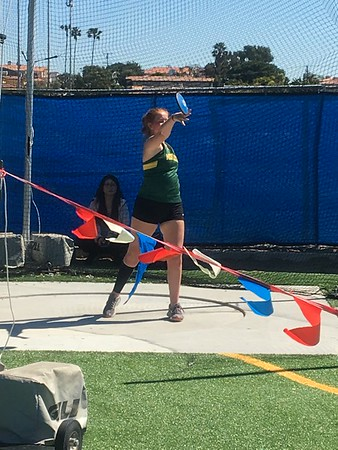 2019 Mustang Relays throws